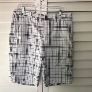 UNDER ARMOR Plaid Casual Shorts